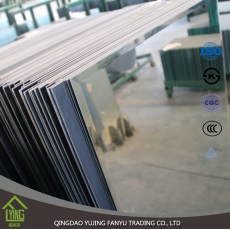 China clear aluminum mirror sheet with double paint factory