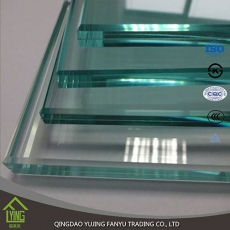 China discount 3-12mm tempered glass factory