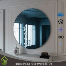 China home decor Colored Mirror sheet glass 2/3/4/5/6/7mm thickness for cabinet fábrica