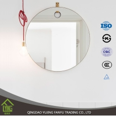 China oval bathroom mirrors for wall decoration factory