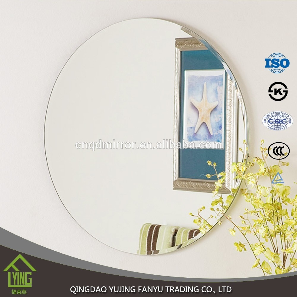 18mm 3mm 4mm Black Back Outlet Decorative Processing Mirror Price