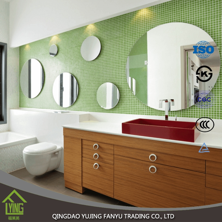3mm 4mm Stick On Wall Mirrors Beveled Mirror Wholesale