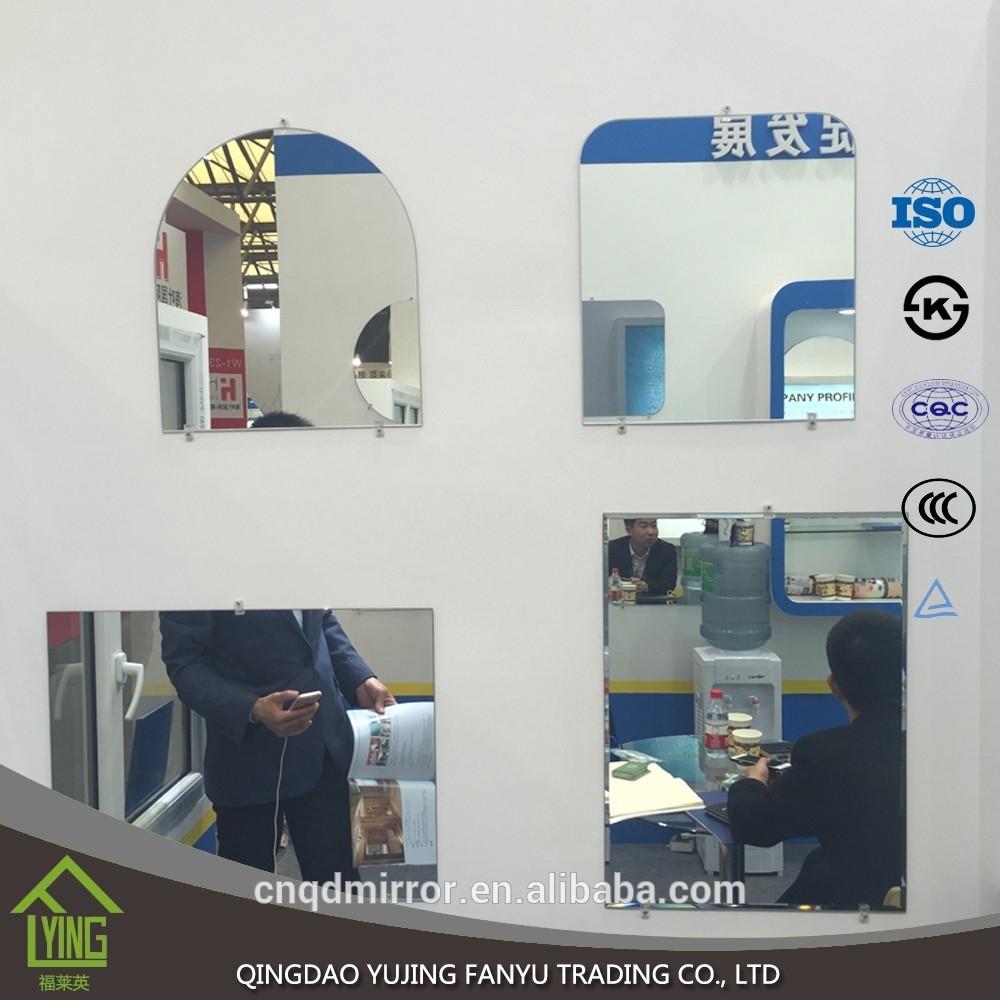 Miroir de salle de bain argent 3mm sans cadre de forme for Fournisseur salle de bain