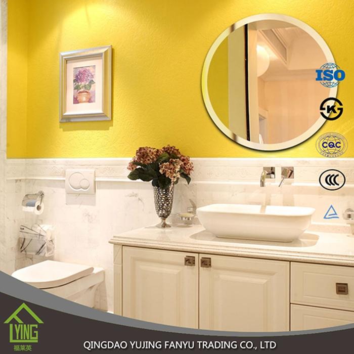 4mm beveled edge round decorative wall mirror - Mirror Manufacturer ...