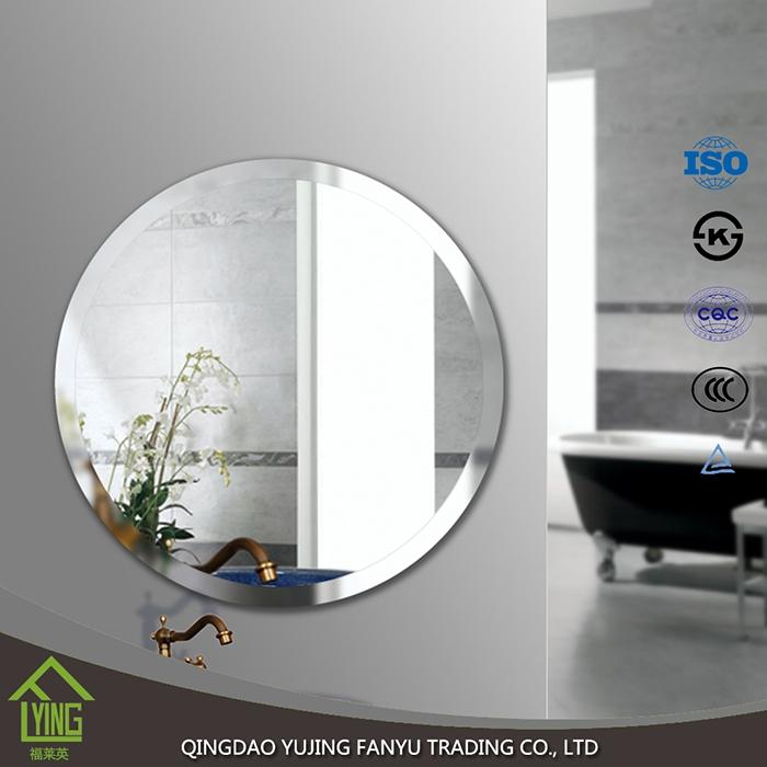 4mm Beveled Edge Round Decorative Wall Mirror Mirror