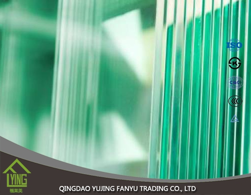 4mm 6mm 8mm 12mm thickness staircase Tempered Glass in high security