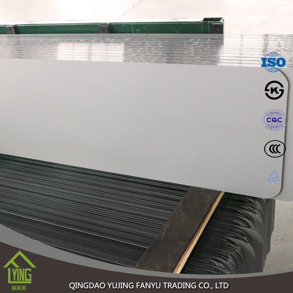 4mm frameless full length long floor aluminum mirror for Long floor mirror
