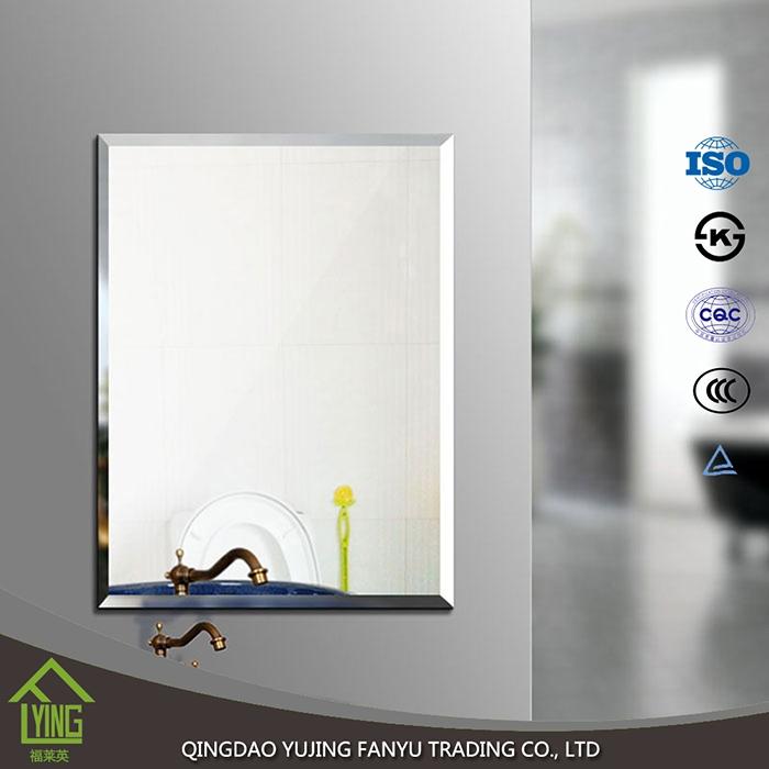 Bathroom Accessories Salon Wall Mirrors Bathroom Mirror Mirror Manufacturer China Silver