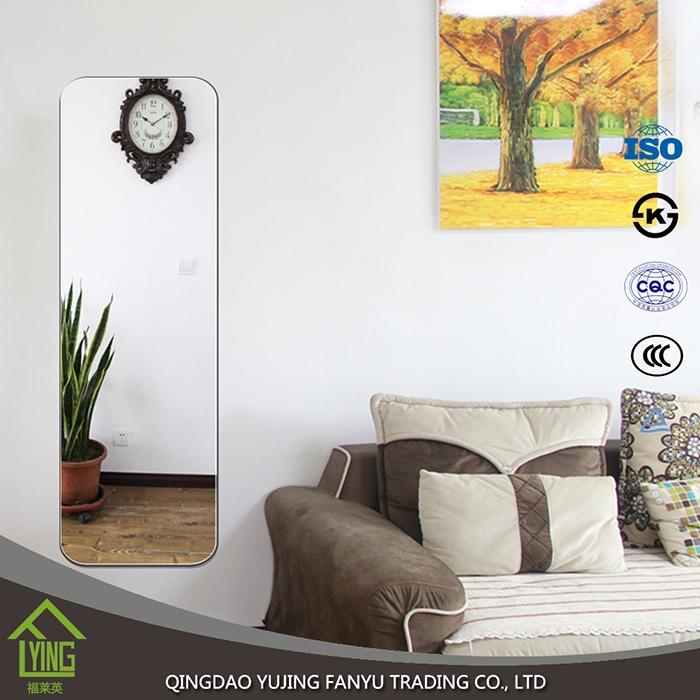 Uso decorativo y forma enmarcado 3mm aluminio hoja de cristal de ...
