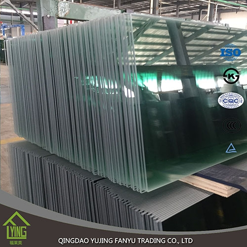 Factory price building safety tempered glass with CE ...