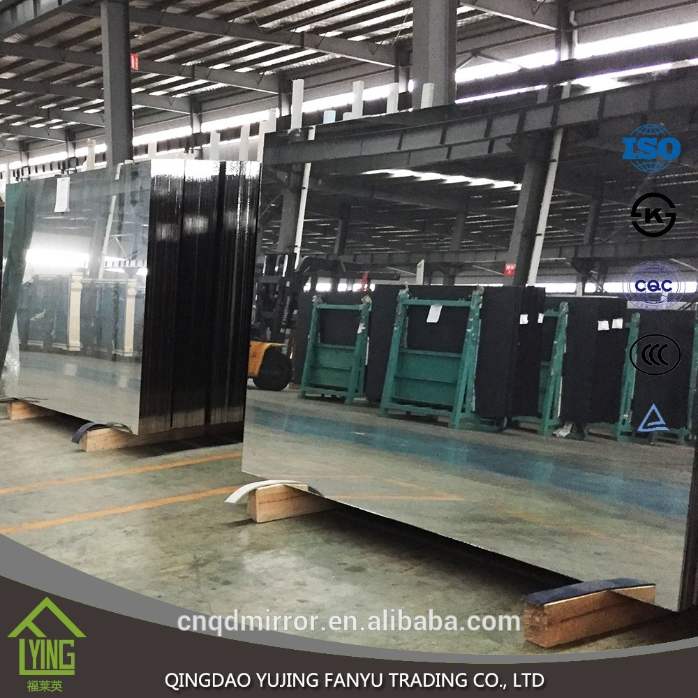 High Quality 1mm Full Length Aluminum Mirror Glass Sheet With Competitive