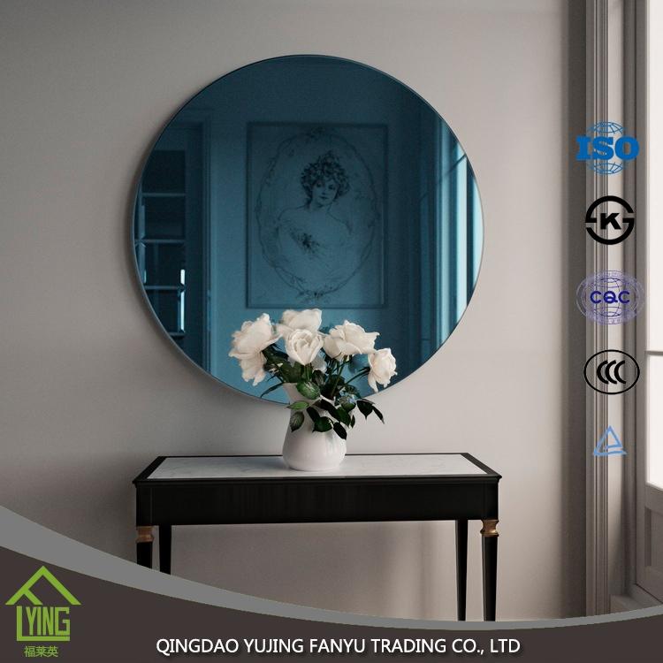 High Quality Silver Coated Colored Mirror Glass For Large