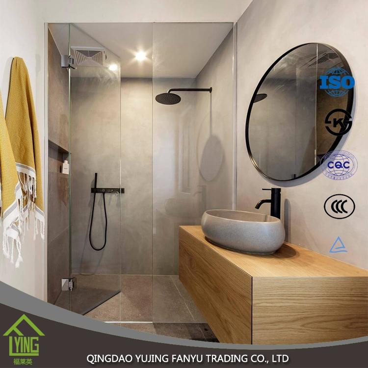 Design moderno senza cornice decorativa argento rivestito for Specchio argento moderno