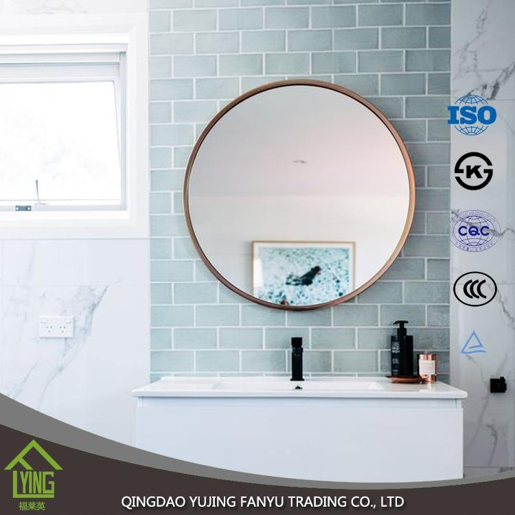 Design moderno hotsale senza cornice decorativa argento for Specchio argento moderno