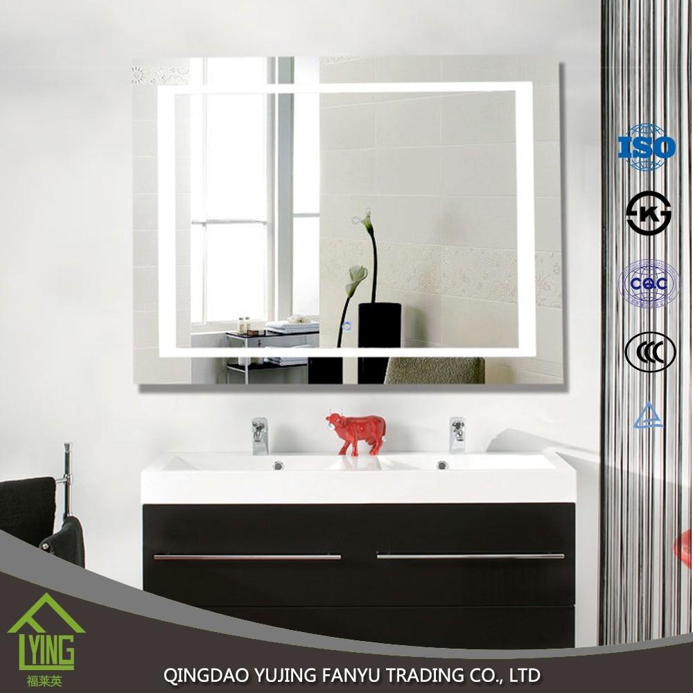 Modernen Stil führte beleuchtet Beleuchtete Badezimmerspiegel ...