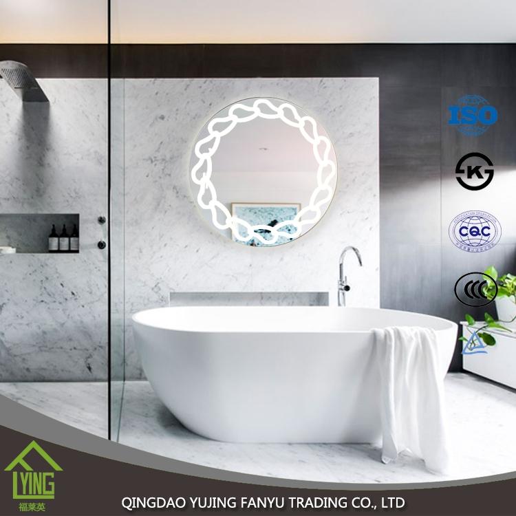 빛 조명 된 제조 업체와 새로운 도착 현대 led 전체 길이 벽 거울 ...