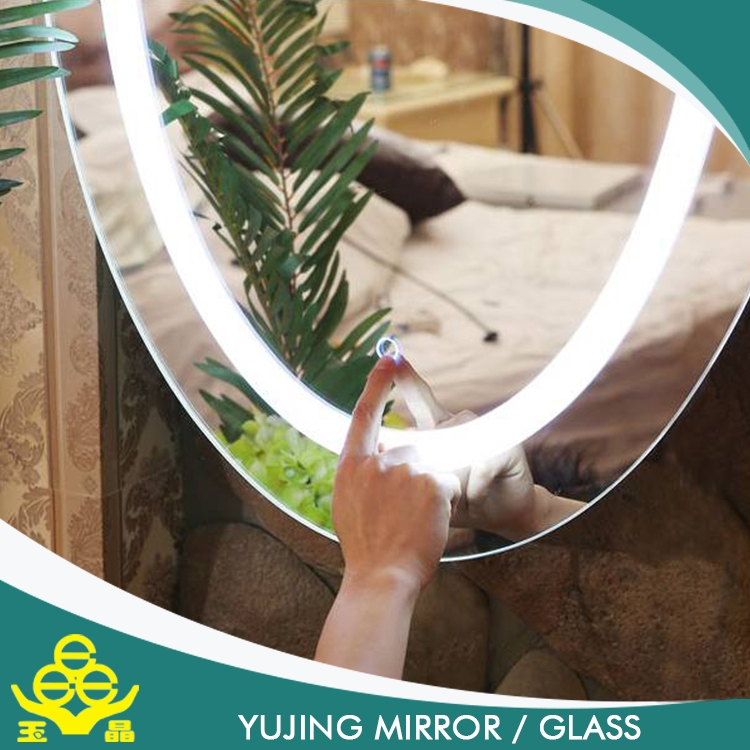 Bathroom Mirror Price china factory wholesale bathroom silver mirror / bathroom