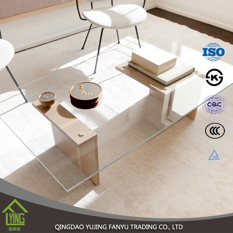 Frameless Glass Coffee Table: Tempered Glass Factory Hot Bent Curved Annealed Glass For