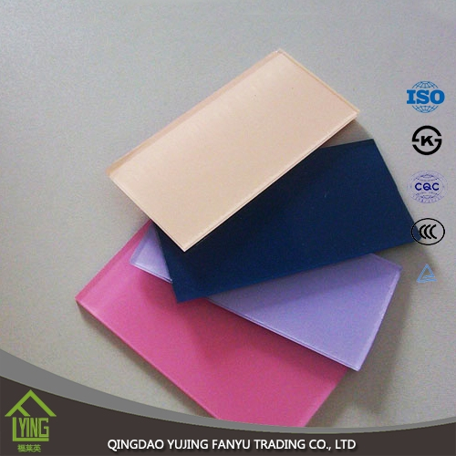 Thriking Glass 4mm 5mm 6mm Colored Reflective Sheets
