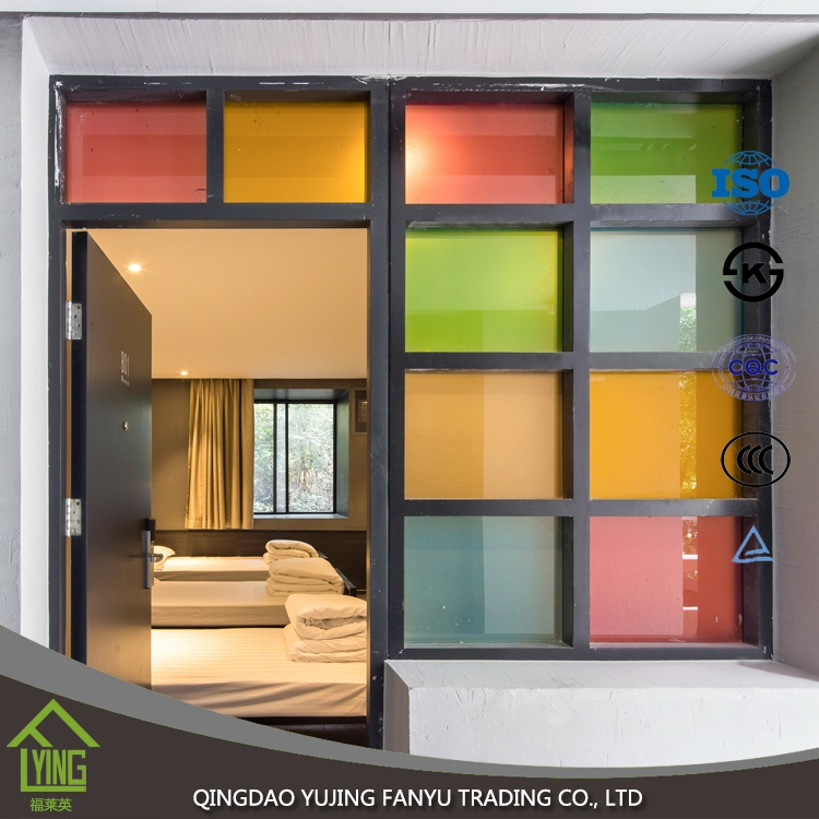 Decorative Colored Mirror Tinted Glass 3 4 5 6mm Thickness