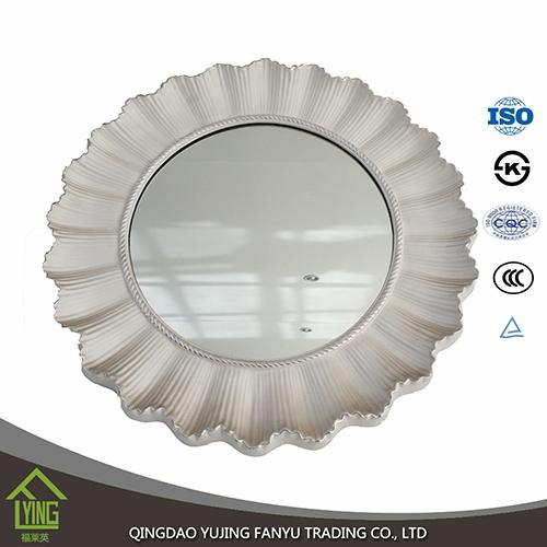 Double Rev Tement 3mm Miroir De Salle De Bain Feuille Verre D Coratif Avec Bord Arrondi Mirror