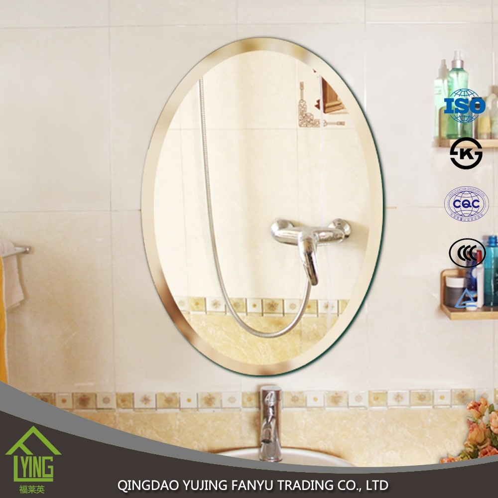 Bathroom Mirror Price environment 1.5/3/5/4/6mm thickness bathroom mirror price for