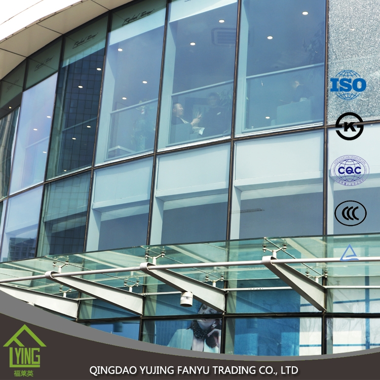 Flexible Glass 4mm 6mm 8mm Thickness Tempered Glass Price