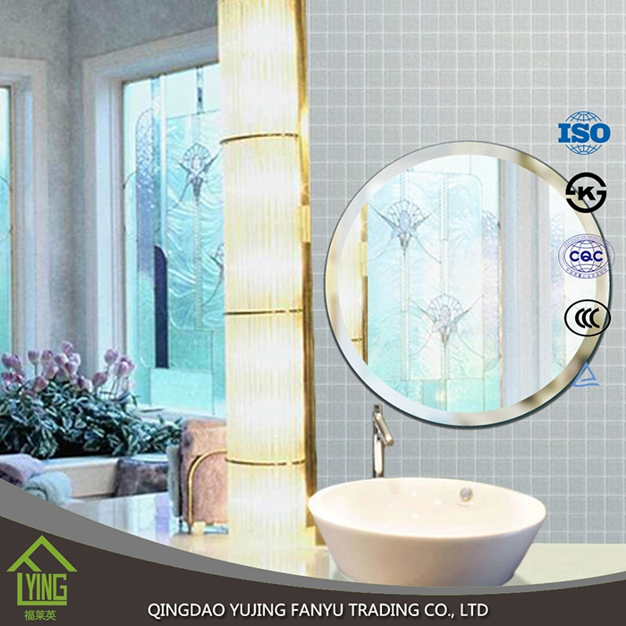 Framless mirrors bath mirrors type and oval mirror shape for Types of bathroom mirrors